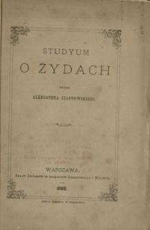 Studyum o Żydach