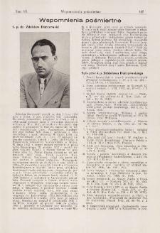Ś. p. dr. Zdzisław Durczewski : wspomnienia pośmiertne