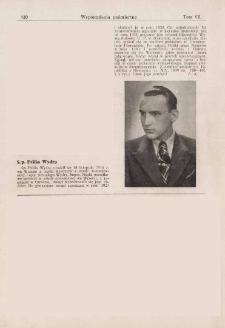 Ś. p. Feliks Wydra : wspomnienia pośmiertne