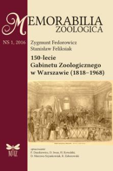 150-lecie Gabinetu Zoologicznego w Warszawie (1818–1968)