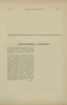 Reallexikon der Vorgeschichte. Bd. 1. H. 1, hrsg. von Max Ebert, Berlin, 1924 : [recenzja]