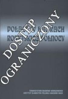 Polacy w łagrach rosyjskiej Północy w świetle relacji, listów i dokumentów