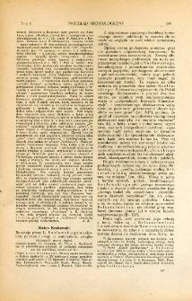 Starsza epoka kamienia w Polsce (paleolit), Kozłowski, Leon, Poznań, 1922 : [recenzja]