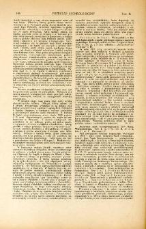 Wykopalisko w Budach Łańcuckich z epoki młodszego okresu Cesarstwa Rzymskiego, Kazimierz Osiński, Przemyśl, 1922 : [recenzja]