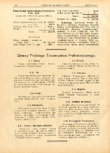Ustawy Polskiego Towarzystwa Prehistorycznego