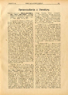 Kultura przedhistoryczna Podola galicyjskiego, Janusz Bohdan, Lwów, 1919, : [recenzja]