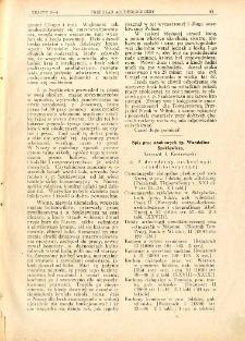 Spis prac naukowych śp. Wandalina Szukiewicza