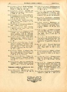 Ważniejsze publikacje prehistoryczne obce z r. 1919