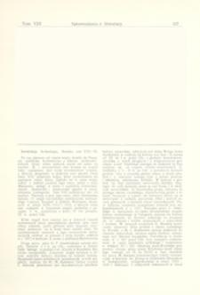Sowietskaja Archeologia, tom VIII-IX, Moskwa : [recenzja]