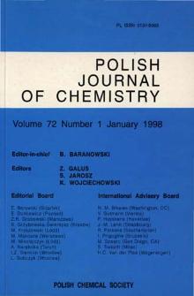 Vol. 72, no 1 (1998) SpisTreściOkładki