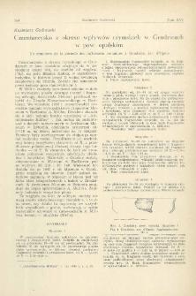 Cmentarzysko z okresu wpływów rzymskich w Grudzicach w pow. opolskim