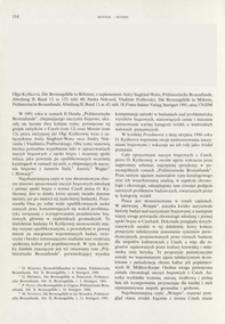Die Bronzegefaße in Böhmen, Olga Kytlicová ; Die Bronzegefaße im Mähren, Jindra Nekvasil, Vladimír Podborský, Stuttgart 1991 : [recenzja]