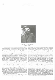 Prof. dr Werner Coblenz (1917-1995)