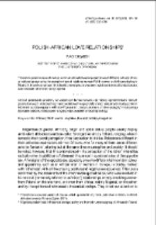 Polish-African Love Relationships