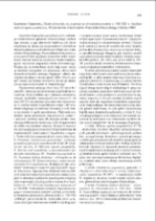 Ziemia lubawska na pograniczu słowiańsko-pruskim w VIII-XIII w. Studium nad rozwojem osadnictwa, Kazimierz Grążawski, Olsztyn 2009 : [recenzja]