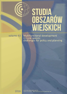 """Towards the creation of the """"Network of the most interesting villages"""". Selected problems of rural renewal in Poland"""