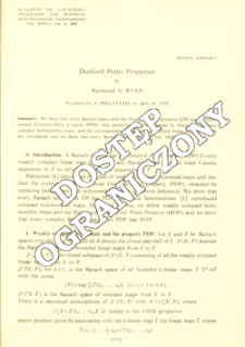 Dunford-Pettis properties