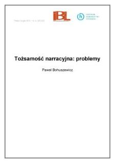 Tożsamość narracyjna: problemy