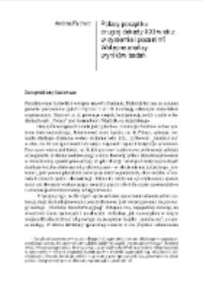 Polacy początku drugiej dekady XXI wieku: w systemie i poza nim? Wstępne analizy wyników badań