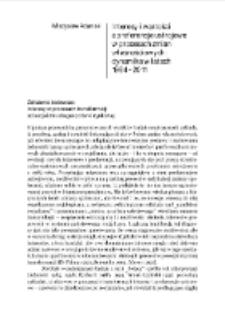 Interesy i wartości a preferencje ustrojowe w procesach zmian własnościowych: dynamika w latach 1984–2011
