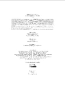 Fragmenta Faunistica - Strona redakcyjna, spis treści , vol. 59, no. 2
