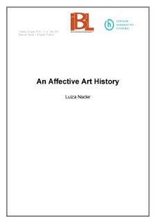 An Affective Art History