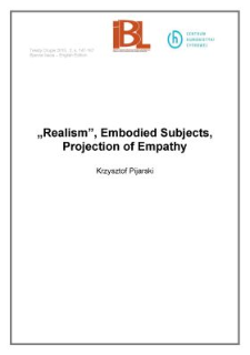 """""""Realism,"""" Embodied Subjects, Projection of Empathy"""