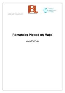 Romantics Plotted on Maps
