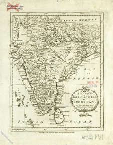 A Map of the East Indies or Indostan