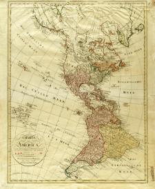 Charte von America nach Astronomischem Bestimmungen den neuesten Nachrichten und Charten