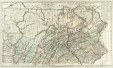 Pennsylvania : zu Ebelins Erdbeschreibung von Amerika : [mapa ogolnogeograficzna]