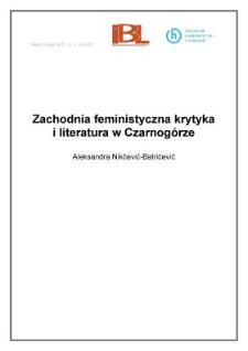Zachodnia feministyczna krytyka i literatura w Czarnogórze
