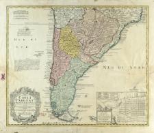 Typus Geographicus Chili a Paraguay Freti Magellanici &c. : ex PP.bg Alfonso d'Ovalle & Nicol. Techo nec non de Brouwer, Narborough, de Beauchesne &c.