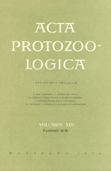 Acta Protozoologica, Vol. XIII, Fasc. 11-20