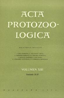 Acta Protozoologica, Vol. XIII, Fasc. 21-27