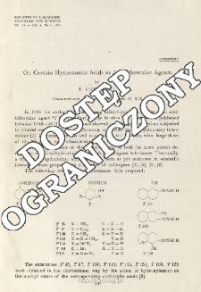 On Certain Hydroxamic Acids as Antitubercular Agents