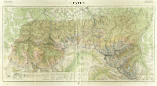 Tatry (część polska) : mapa fotogrametryczna