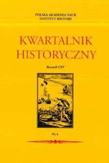 """Kwartalnik Historyczny R. 115 nr 4 (2008), Indeks do Bibliografii zawartości czasopisma """"Kwartalnik Historyczny"""" za lata 1887-2004"""