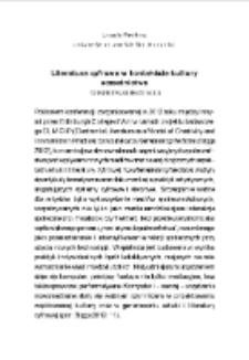 Literatura cyfrowa w kontekście kultury uczestnictwa