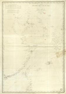 Carte des côtes orientales de Chine