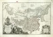 Carte La Plus Generale Etqui Comprend La Chine, La Tartarie Chinoise, Et Le Tibet