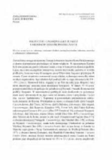Polityczne i upamiętniające funkcje urbonimów odantroponimicznych