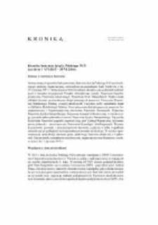 Kronika Instytutu Języka Polskiego PAN (za okres 1 VII 2015 - 30 VI 2016)