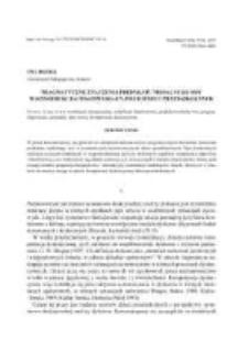 Pragmatyczne znaczenia predykatu modalnego móc w konstrukcjach konwersacyjnych dzieci przedszkolnych