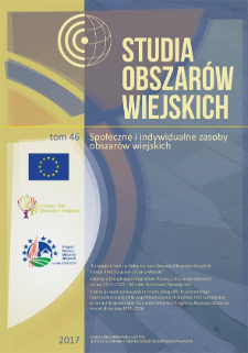 Rola lidera lokalnego w generowaniu kapitału społecznego – studium przypadku z gminy Jeżewo = The role of local leaders in generating social capital – the case study of Jeżewo commune