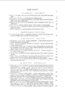 Pamiętnik Literacki Z. 4 (2011), Treść zeszytu
