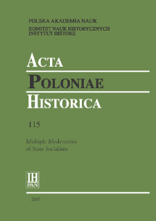 Acta Poloniae Historica T. 115 (2017), Reviews