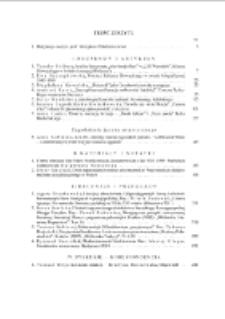 Pamiętnik Literacki Z. 3 (2012), Treść zeszytu