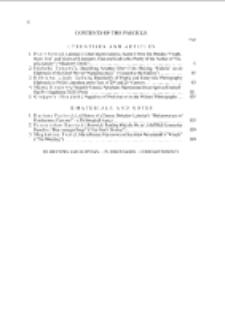 Pamiętnik Literacki Z. 1 (2013), Contents of fascicle