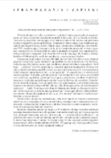 """""""Studia Geohistorica. Rocznik Historyczno-Geograficzny"""", nr 1-4, 2013-2016"""